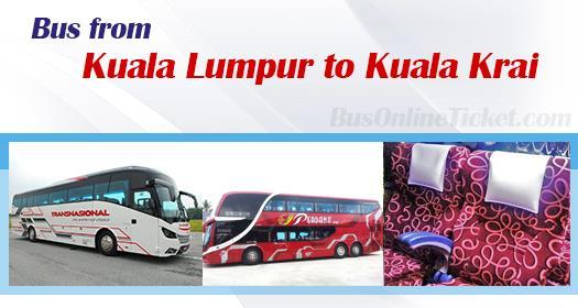 Bus from KL to Kuala Krai