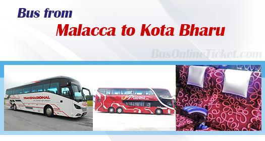 Bus from Melaka to Kota Bharu