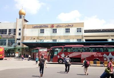 Larkin Sentral Bus Terminal