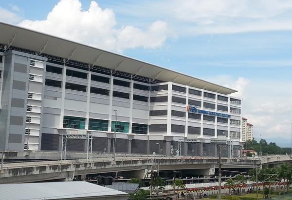 Terminal Bersepadu Selatan (TBS) Building