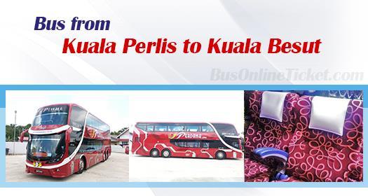 Bus from Kuala Perlis to Kuala Besut