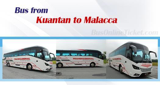 Bus from Kuantan to Melaka