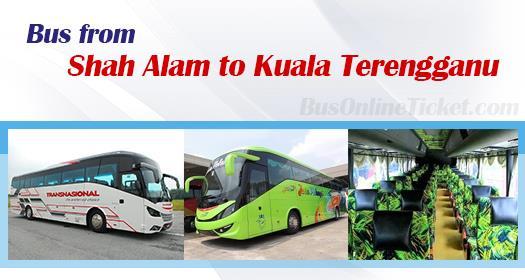 Bus from Shah Alam to Kuala Terengganu