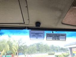 CCTV installed in LPMS bus