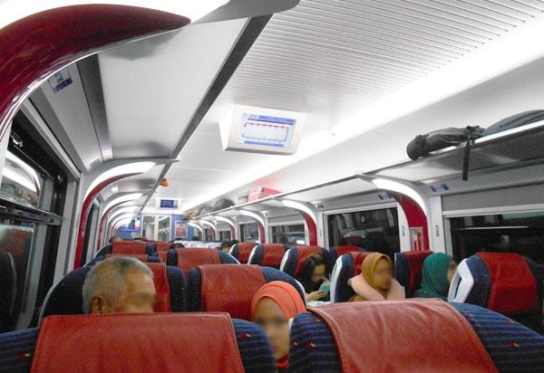 Taking Ets Gold Train From Kl To Alor Setar