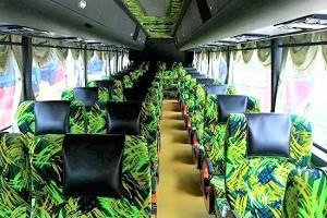 Jasa Pelangi Express Interior View