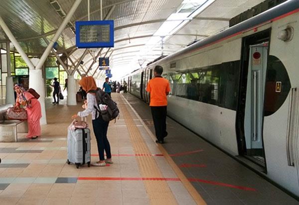 KTM Alor Setar Arrival Platform