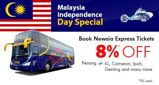 Malaysia National Day 24-Hour Flash Sale