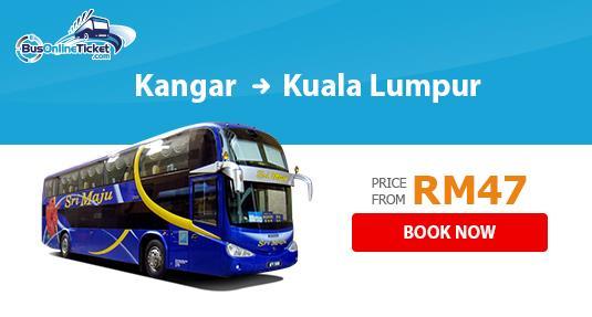 Sri Maju Express Bus from Kangar to Kuala Lumpur