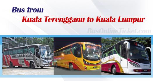 Bus from Kuala Terengganu to Kuala Lumpur