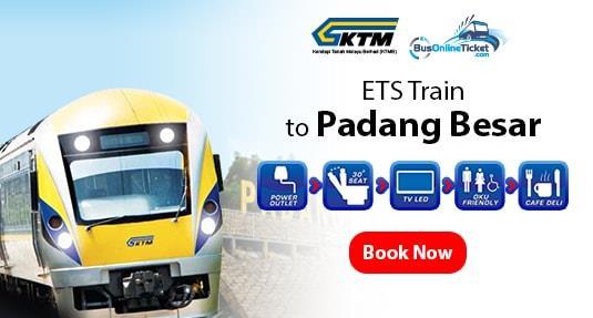 ETS Train to Padang Besar