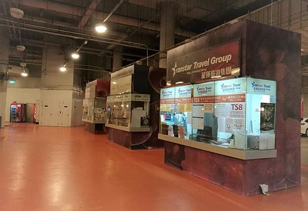 Transtar Counter at the Resort World Sentosa