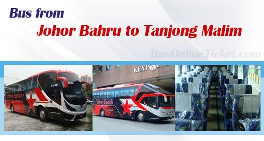 Bus from Johor Bahru to Tanjong Malim