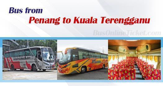 Bus from Penang to Kuala Terengganu