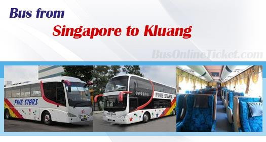 Bus from Singapore to Kluang
