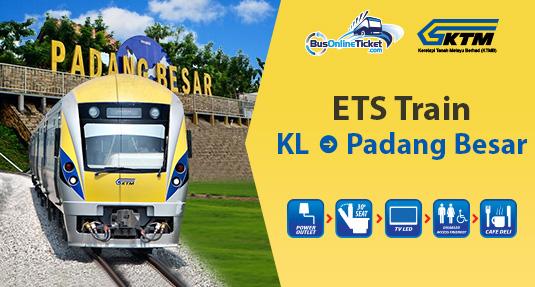 KL to Padang Besar ETS Train