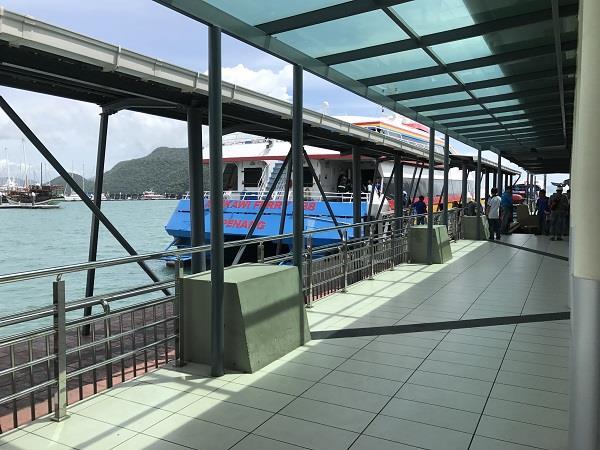Ferry from Langkawi to Kuala Perlis