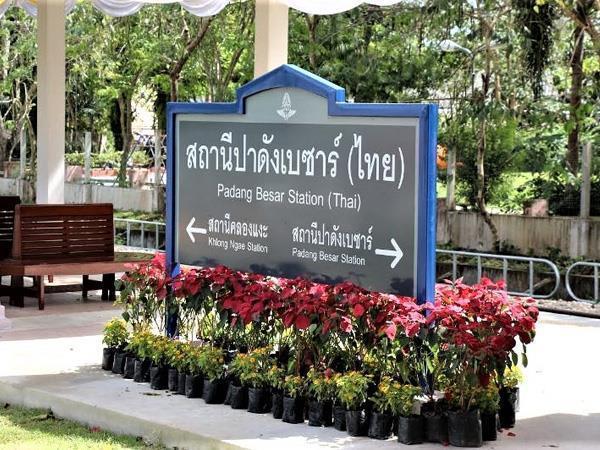 Padang Besar Malaysia to Padang Besar Thailand