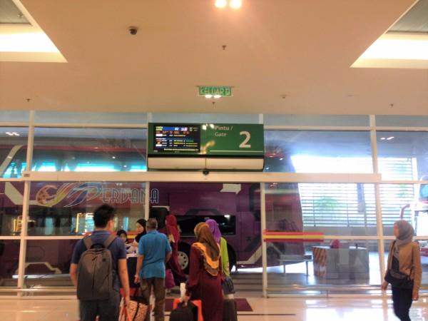 Boarding platform Gate 2