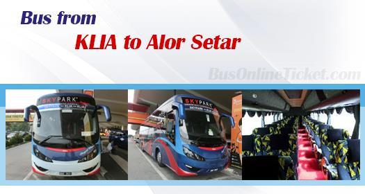 Bus from KLIA to Alor Setar