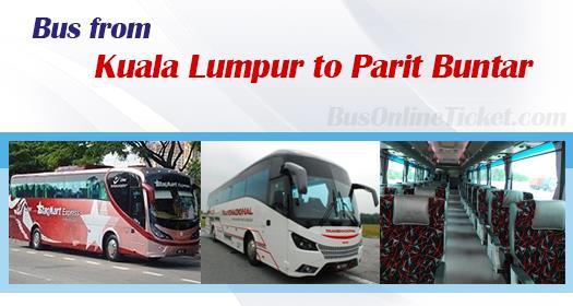 Bus from Kuala Lumpur to Parit Buntar