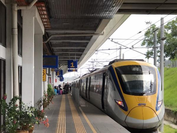 KTM Padang Besar Station - ETS Padang Besar to KL