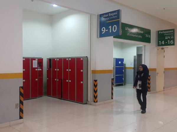 Lugagge lockers