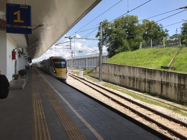 Padang Besar  Train Station Platform