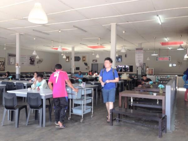 Restaurant in Hentian Bus Ekspres Perdana