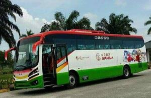 Shanhua Travel & Tours - Bus