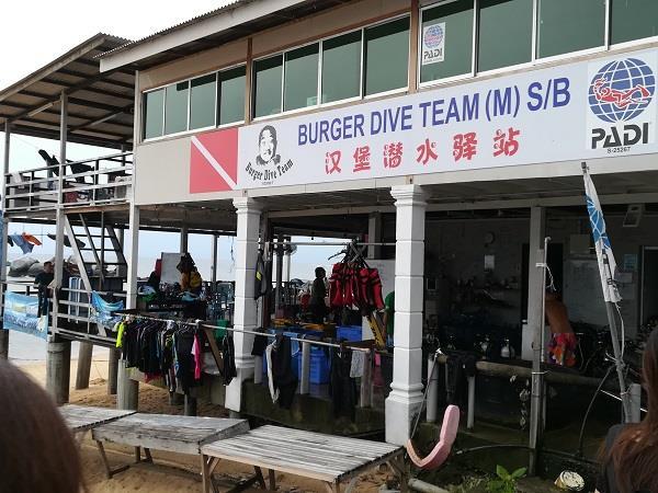 Diving Service at Paya Beach, Tioman
