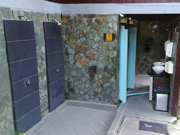 Public Toilet in Paya Beach Resort
