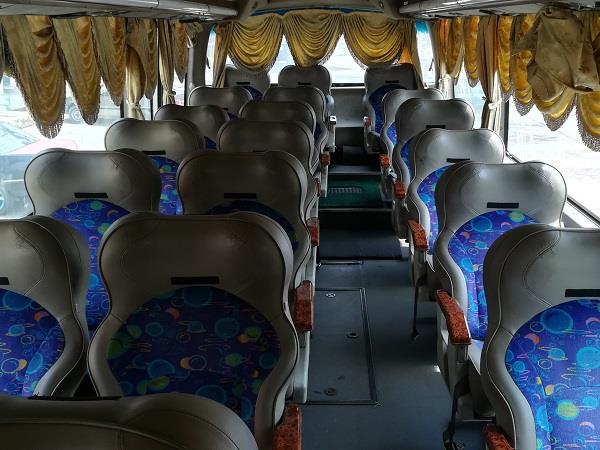 Sepakat Liner Bus Inner View