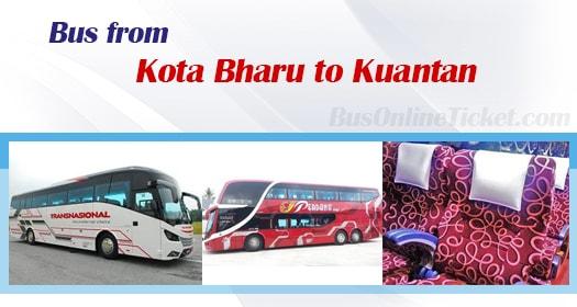 Bus from Kota Bharu to Kuantan