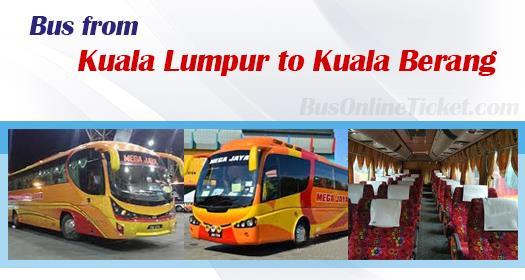 Bus from Kuala Lumpur to Kuala Berang