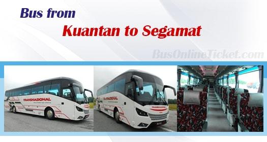 Bus from Kuantan to Segamat