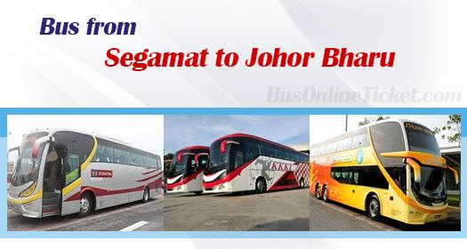 Bus from Segamat to Johor Bharu