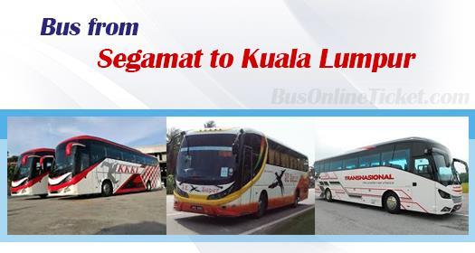 Bus from Segamat to Kuala Lumpur