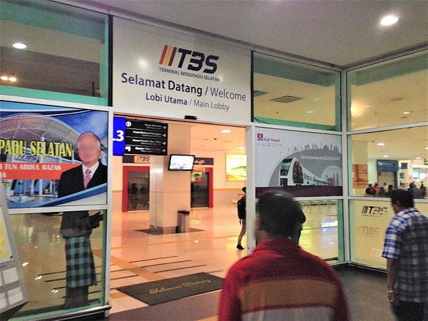 Entering TBS