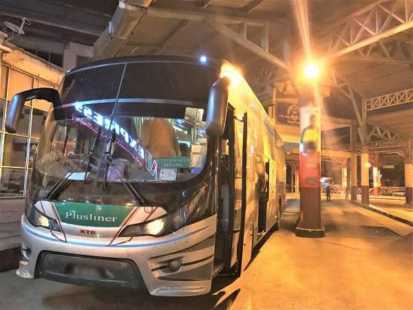 Plusliner bus - Kuala Perlis to Butterworth Bus Plusliner