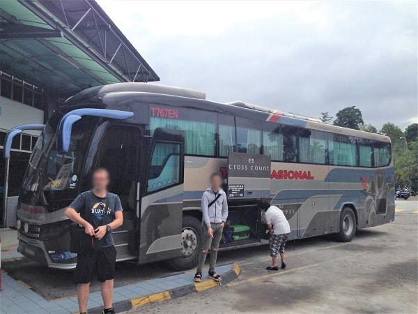 Kuala Lumpur to Lumut bus