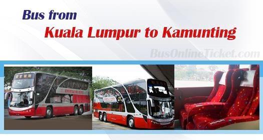 Bus from Kuala Lumpur to Kamunting