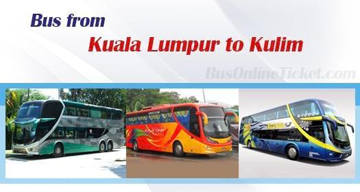 Bus from Kuala Lumpur to Kulim