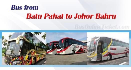Bus from Batu Pahat to Johor Bahru