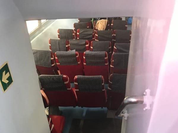 Limbongan Maju Ferry Seats