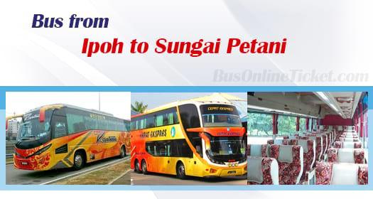 Bus from Ipoh to Sungai Petani