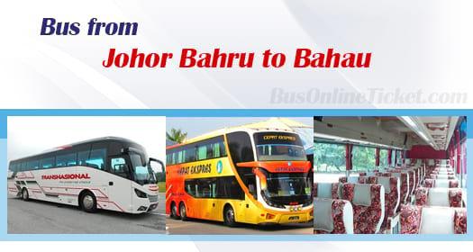 Bus from Johor Bahru to Bahau