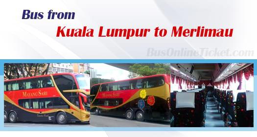 Bus from Kuala Lumpur to Merlimau