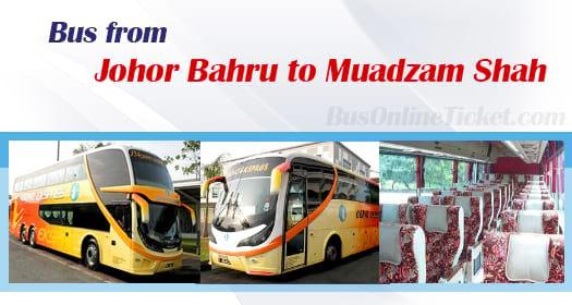 Bus from Johor Bahru to Muadzam Shah