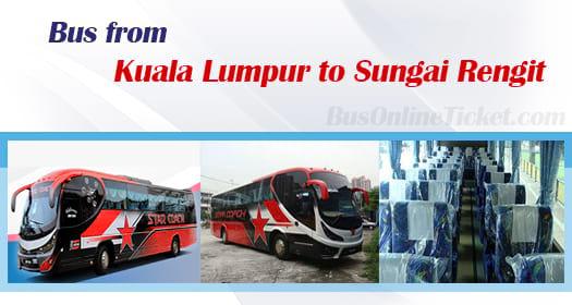 Bus from Kuala Lumpur to Sungai Rengit
